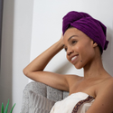 Divine Overseas Cotton Spa Hair Wrap Towel, For Bathroom, Size: Long
