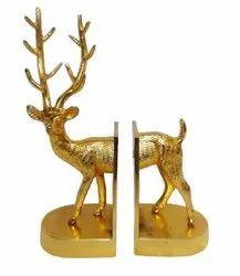 Metal Deer Bookend