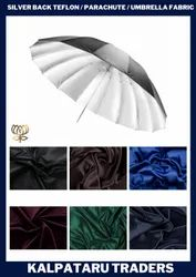 Plain 6 color choices Silver Coated Umbrella Fabric, For Umbrella,Multiple