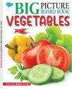Big Picture Board Book Vegetables Can Be Wiped Clean
