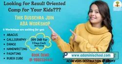 Online WorkShop for Kids by ADA in Mumbai