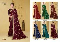 Ladies Vichitra Silk Saree