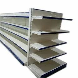 Double sided Grocery Display Rack
