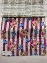 Satin Patta Digital Print Fabric (Ladies Dresses, Kurti, Tops)