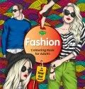 Fashion Colouring Book For Adult  With Tear Out Sheets