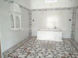 Stone Floor Inlay Temple Home