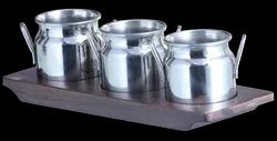 SS Condiment/Welcome Drink Set