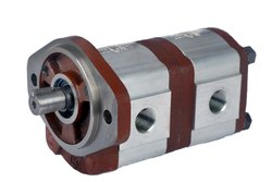 Hydrostar Three Tandem Hydraulic Gear Pump, AC Powered, 7.7 Lpm
