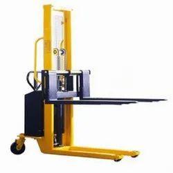 Pallet Semi Electric Stacker
