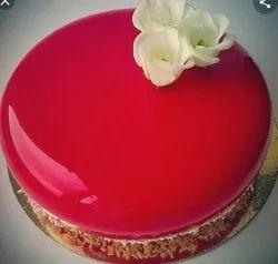 Cake Strawberry Glaze Gel