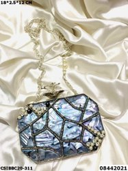 Mother Of Pearl Brass MOP Clutches