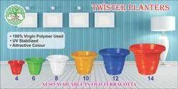 Twister Flower Pot
