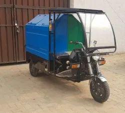 Electric Rickshaw For Garbage Collection 500 kg