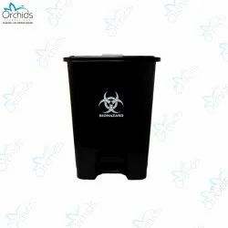 Orchids Bio Waste Dust Bin 30 Litres (Black)