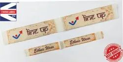 Sewing name labels