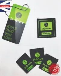 Garment Tags And Labels