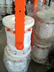 Beriwal PP Ball Valve Flanged Ended
