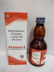Methylcobalamin, B-complex L-lysin Zinc Tab