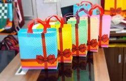 Printed Quadruple Wall 9 Ply Laminated Box Bag, For Shopping, Capacity: 2 Kg