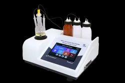 Touch Screen Microprocessor K.F Moisture Titrator