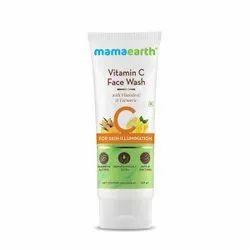 Mamaearth Vitamin C Face Wash with Vitamin C and Turmeric for Skin Illumination