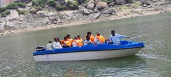 IRS Approved FRP Speed Boat 14 Seater (Only Boat)