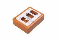 K & K For Office 3 WAY PVC Open Switch Board, Module Size: 4 X 7 X 2, 65