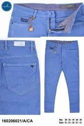 Cotton/Linen Flat Trousers Men Casual Trouser