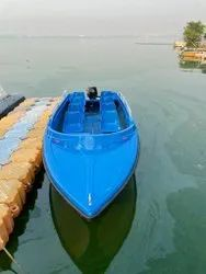 IRS Approved FRP Speed Boat 8 Seater (Only Boat)