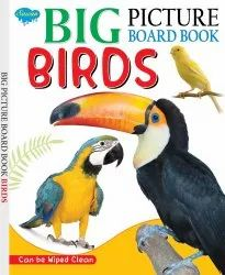 Big Picture Board Book Birds Can Be Wiped Clean