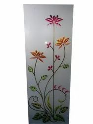 Multicolor Printed Decorative Window Glass, Thickness: 10 mm