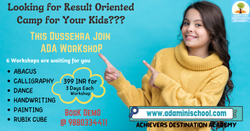 Online WorkShop for Kids by ADA in Ahmedabad