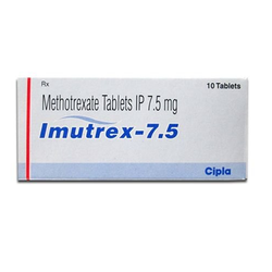 Methotrexate Tablets 2.5mg, 5mg, 7.5mg, 10mg