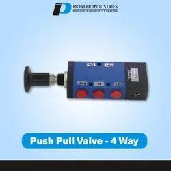 4 Way Push Pull Valve