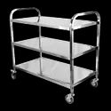 HSP26 Stainless Steel Platform Trolley With Grill