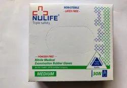 Nulife Nitrile Examination Gloves