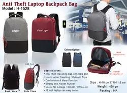 Anti Theft Backpack Laptop Bag