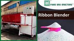 Ribbon Blender For Detergent Powder