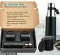 VACUUM FLASK WITH 2 CUPS GIFT SET