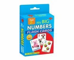 Flash Card My Big Numbers Flash Card
