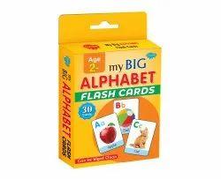 Flash Card My Big Alphabet Flash Card