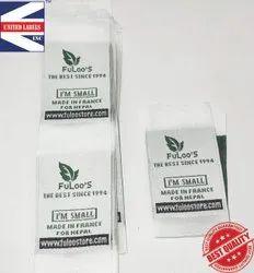 Wholesale clothing labels