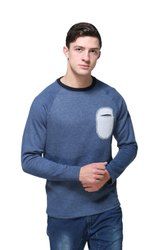 HARBORNBAY  Full Sleeve Solid Men Sweatshirt