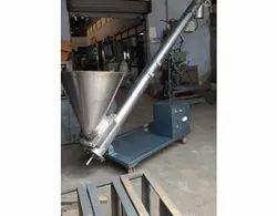 Carbon Steel Vertical Screw Conveyor, Capacity: 2-25kg per minute, Three Phase