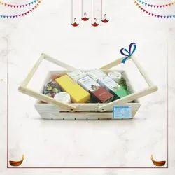 B-urban Diwali Basket Gift Hamper Set