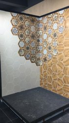 Hexagon Shaped Tiles