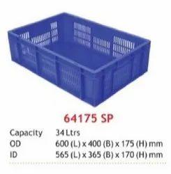 Vegetable Display Plastic Crates