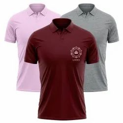 Collar Logo T Shirt