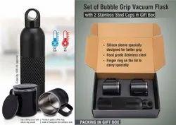 Grip Vacuum Flask Set