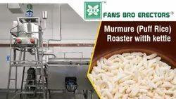 Puff Rice Roaster Machine